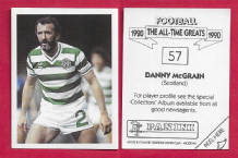 Scotland Danny McGrain Glasgow Celtic 57